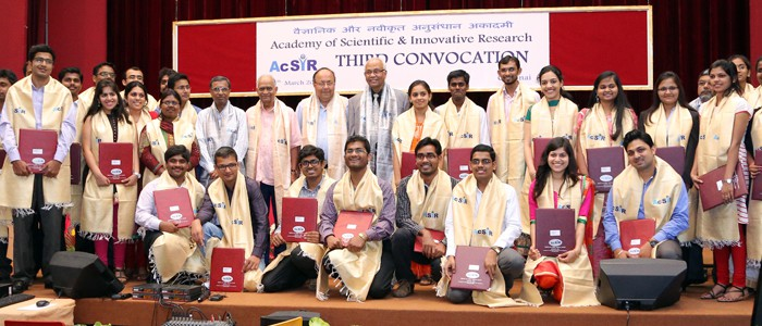 Third Convocation AcSIR-2014